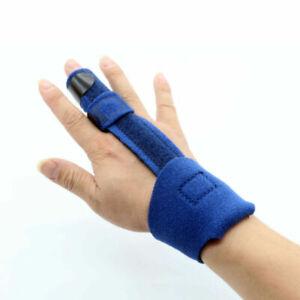 Finger Splint Support Brace Pain Protector Mallet Trigger Straightener Bandage