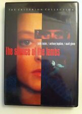 The Silence of the Lambs (DVD, 1998, Criterion Collection - OUT OF PRINT)
