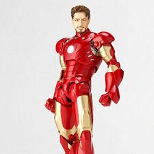 Genuine Kaiyodo Revoltech Ironman Iron Man Mark III Action Figure SCI-FI 036