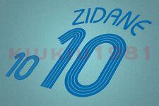 France Zidane #10 World Cup 2006 Awaykit Nameset Printing