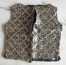 Vintage Small Fancy Women's Sparkly Top Look