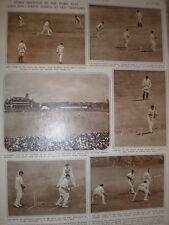 Photo article cricket 3rd test England South Africa Old Trafford 1947