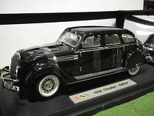 CHRYSLER AIRFLOW noir de 1936 au 1/18 SIGNATURE MODELS 18126 voiture miniature