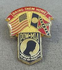 Georgia POW - MIA Bring Them Home / You Are Not Forgotten Pin