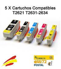 5 Tinta compatibles non-oem 26 XL Epson Expression Premium XP-600 XP600 XP 600
