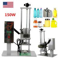 DDX-450 Desktop Bottle Cap Screwing Machine,Electric Round Bottle Screw Capping Machine,150W