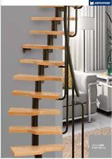 MINI-  Space Saver Spiral - Loft Staircase Kit-Black