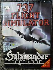 737 Flight Simulator - Salamander Software - BBC Model B - BIG box clam case