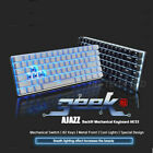 Wired USB-C Gaming Keyboard LED Backlit Blue Switch Mechanical for PC PS4 Laptop