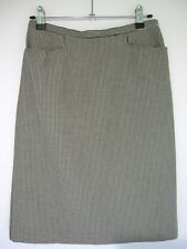 TALBOTS PETITES Pencil Skirt Size 4P Petite Stretch Gingham Pattern Stretch New