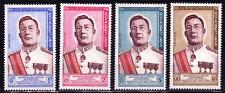 1962  LAOS    Y & T    N° 75 à 78   Neufs *  AVEC CHARNIÈRE