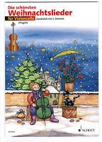 Violoncello  Noten : Die schönsten Weihnachtslieder leicht (Magolt) CELLO ED9631