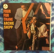 Archie Shepp LP Four For Trane IMPULSE Van Gelder