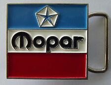 - belt buckle. F040801 Mopar - Chrysler - Dodge