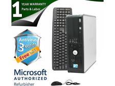 DELL Desktop Computer 780 Core 2 Quad Q6600 (2.40 GHz) 8 GB DDR3 1 TB HDD Intel