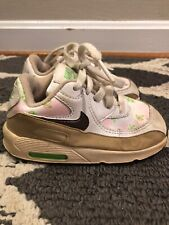 NIKE AIR MAX Hawaiian Floral Pink Chocolate Athletic Sneakers Toddler 7 👗#s2m15