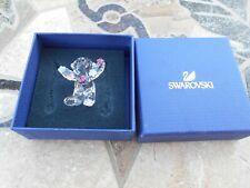 Swarovski Crystal Kris Bear Flowers for You #5076626 Nib, Never displayed