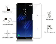 Samsung Galaxy S8 [Full Coverage] 3D Glass Curved Screen Protector Guard - Clear
