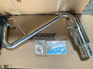 MEGAN STAINLESS STEEL AXLEBACK EXHAUST FOR MAZDA MIATA MX-5 99-05 NB 1.8L