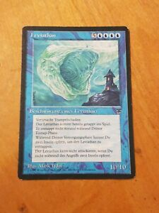 Leviathan - Magic the Gathering MTG Legends German Misprint Nice!