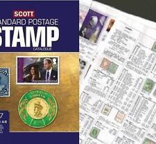 Australia 2017 Scott Catalogue Pages 721-786 SALE`