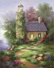 Royal & Langnickel Romantic Lighthouse Paint Your Own Masterpiece Kit