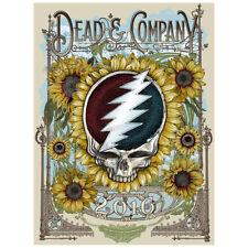Dead & Company Poster Sleep Train Amphitheater Chula Vista, Ca 7/27 2016 Rare