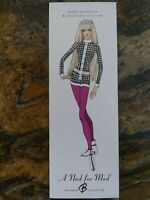 2003 A Nod for Mod Barbie NRFB Mint #G6261 Gold Label Limited Edition