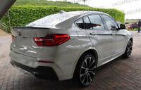 BMW F26 X4 Series Genuine Carbon Fibre Fiber Boot Spoiler M Performance