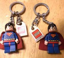 Lot 2 Lego Superman Keychains - Super Heroes