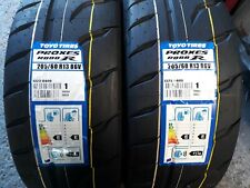 2 x 205/60/13 toyo r888r gg compound/rally tyres/race tyres/trackday tyres/race