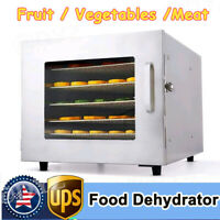 5 /8 Trays Electric Food Dehydrator Machine Home Fruit Jerky Beef Meat Dryer