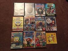 Childrens Family Adventure 12 DVD Lot DISNEY Spongebob Elf's Story Mutant Turtle
