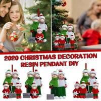 2020 Xmas Christmas Tree Hanging Ornaments Personalized Family Ornament Decor Ho