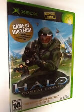 Halo: Combat Evolved (Microsoft Xbox, 2001) no Manual. Disc & case Olny