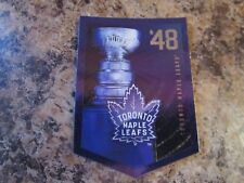 2012-13 Panini Molson Canadian Stanley Cup Collection 1948 TORONTO MAPLE LEAFS