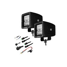 "Heise HE-CL32PK 3"" 6 LED Cube 90 Degree Flood Lights Kit (Pair)"