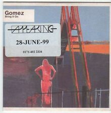 (EM905) Gomez, Bring It On - 1999 DJ CD