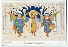 Ak Josef Madlener Weihnachten Christkind Engel Geschenke Ackermanns Kunstv. 1930