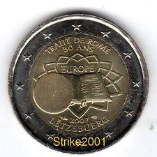 2 EURO COMMEMORATIVO LUSSEMBURGO 2007 Trattato di Roma