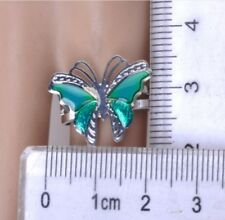 ANELLO TERMICO CAMBIA COLORE FARFALLA-Butterfly Emotion Feeling Changeable Ring