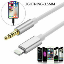 Lightning3.5mm Jack Male AUX Adapter cable For iPAD iPhone7 8 X XS XR 11 All iOS