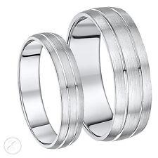 New Palladium His & Hers Designed Wedding Rings 5&7mm