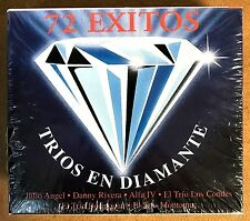 TRIOS EN DIAMANTE - 4 CDS BOX SET / 72 EXITOS - ARTISTAS ORIGINALES