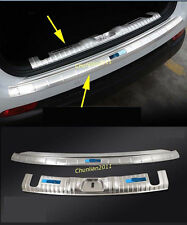 Rear Bumper Protector Sill Plate for 2017 Jeep Compass 2018 blue Stainless door