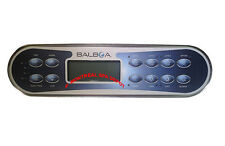 Spa hot tub Balboa Wg® El/Gl Series panel Ml900 keypad, 12-buttons, part# 52654
