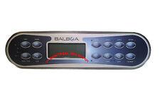 Spa hot tub Balboa WG® EL/GL Series panel ML900 keypad, 12-buttons, part# 52654