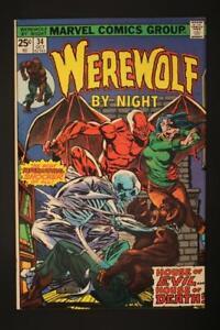 Warewolf by Night #34 - NEAR MINT 9.4 NM - Marvel Comics