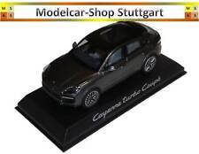 Porsche Cayenne Turbo Coupe Anthrazit - Norev 1:43 - WAP0203160K fabrikneu