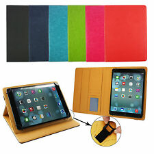 Universal Wallet Case Cover fits Excelvan 10.1 Inch Octa Core Tablet PC